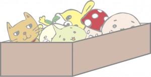 ぬいぐるみ おもちゃ箱